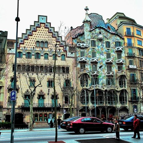 Casas de la manzana de la discordia gu a de barcelona - La casa de las lamparas barcelona ...
