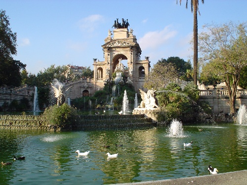 Para so en barcelona el parque de la ciutadella gu a de for Parques de barcelona