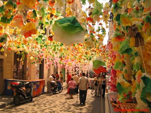 La Fiesta Mayor del Barrio de Gracia