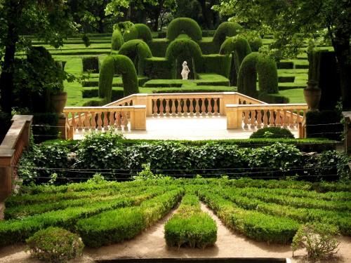 El jard n m s antiguo de barcelona el parque del laberinto for Parques de barcelona